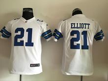 2016 Youth Dallas Cowboys #9 Tony Romo #88 Dez Bryant #82 Jason Witten E.smith Blue white #21 Ezekiel Elliott kid, stitched logo(China (Mainland))