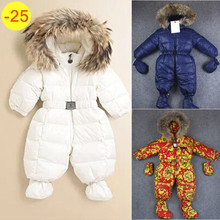 Free shipping ! 2013 New carters brand winter coat baby bodysuit snowsuit down rompers for newborn jumpsuit outerwear ski suit