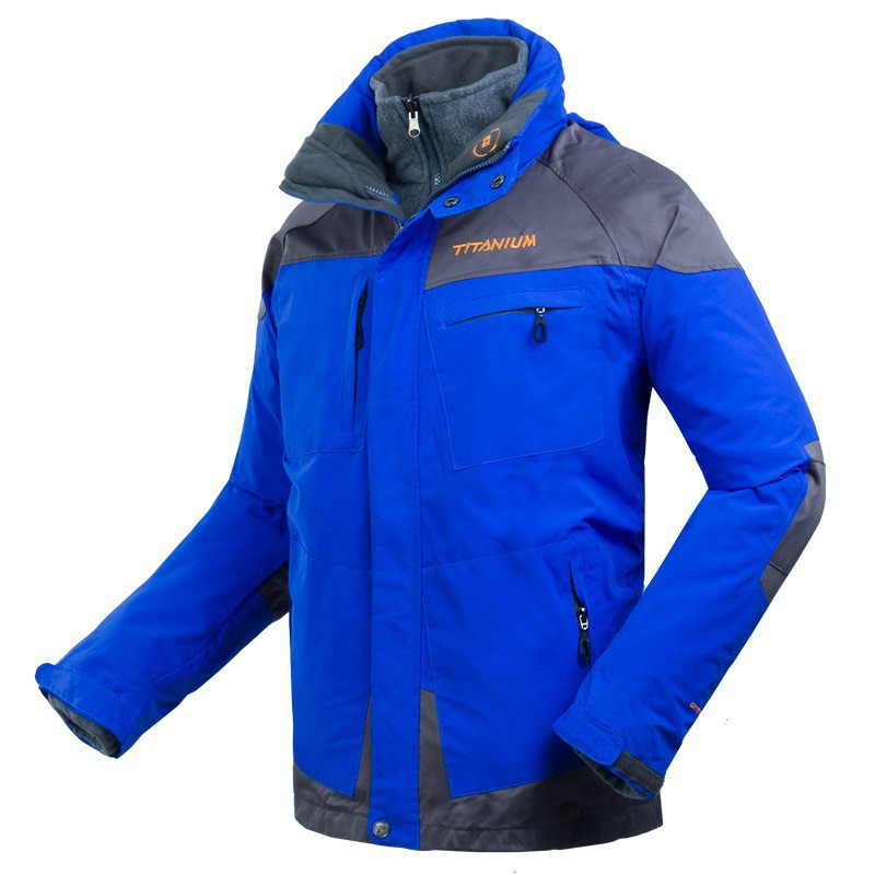 OMNI-TECH TITANIUM Brand Skiing Winter Mens Softshell Waterproof Jackets Outdoor Hiking Camping Snowboard Jackets Outerwear(China (Mainland))