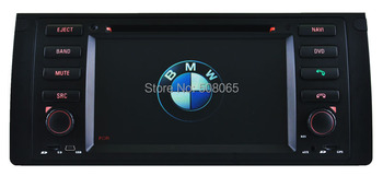 7.0 inch Digital Touch Screen car dvd player for BMW E39/E53/M5 with DVD/BT/TV/IPOD/GPS+ free  GPS card - 8786