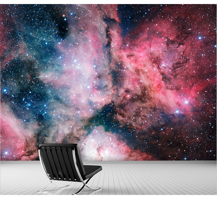 Compare prices on nebula wallpapers online shopping buy - Space wallpaper room ...