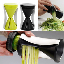 Kitchen Gadget Funnel Model Spiral Slicer Vegetable Shred Device Cutter Cooking Tool Carrot Piece Grater New Kitchen accessories(China (Mainland))