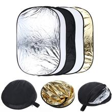 New arrival 32 x 48 inch 5 in 1 Portable Photography Studio Multi Photo Collapsible Light Reflector 80 x 120cm free shipping