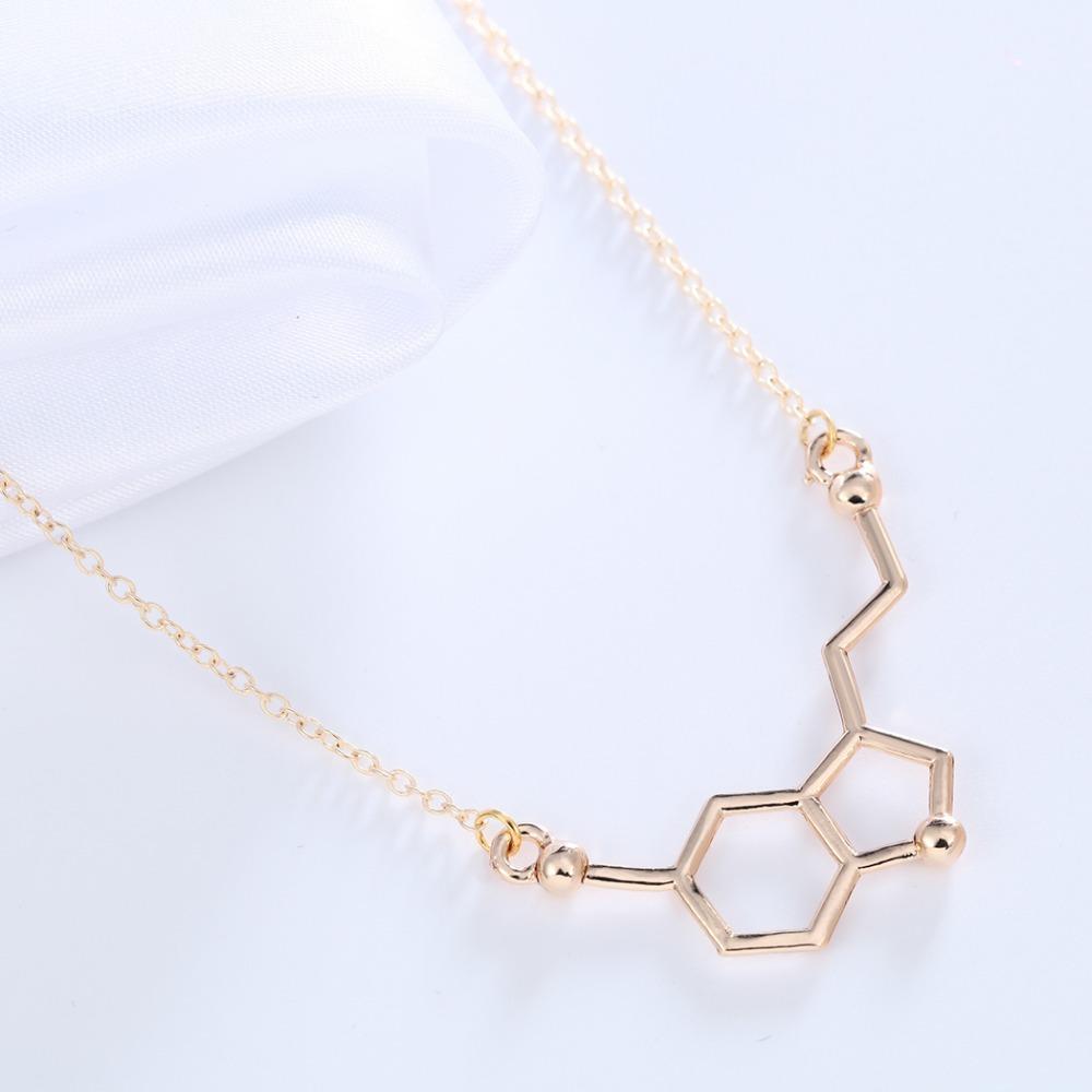 aliexpress buy chemistry serotonin necklace