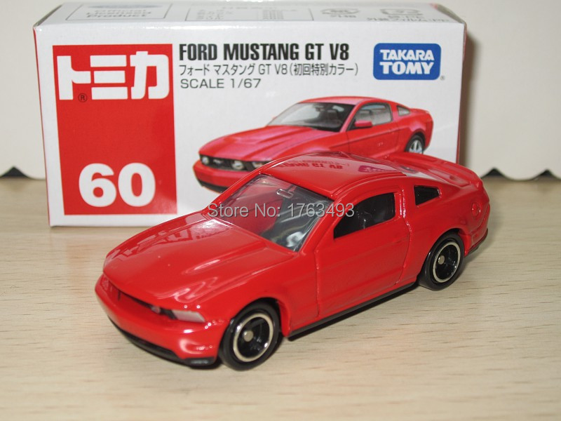 Tomy Tomica #60 FORD MUSTANG GT V8 First Edition alloy car model(China (Mainland))
