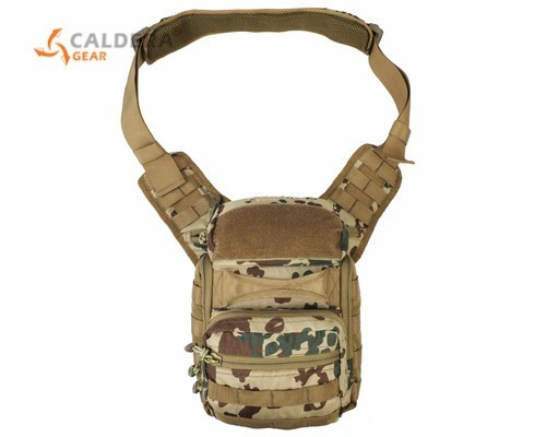 Фотография CALDERAGEAR Kylin II Tactical Versipack Combat Military Hunting Shoulder Bag Outdoor Airsoft Sport Accessory Pouch Messenger Bag