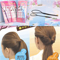 New 2pcs 1set Lady Magic Hair Styling Multi Function Hair Accessories Tools Care Pattern Plate Portable