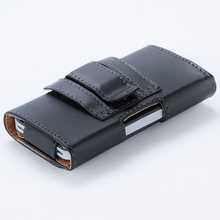 Buy Luxury Horizontal Belt Clip Holster PU Leather Pouch Mobile Phone Cases Cover iPhone 4 4G 4S for $2.11 in AliExpress store