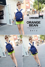 New 2015 casual canvas backpack women fashion school bags for girls dot printing backpack shoulder bags