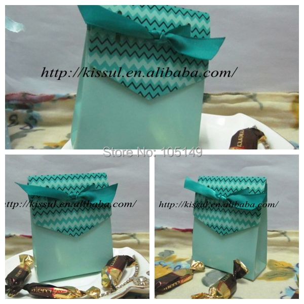 2015 Newest design Wedding favor box in Green color Best wedding gifts ...