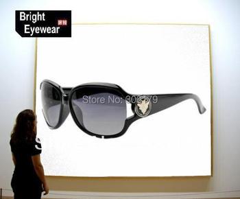 New Arriving 100% Polarized Sunglasses Female Fashion Women's Sun Glasses Large Sunglasses Star Style Sunglasses 3043