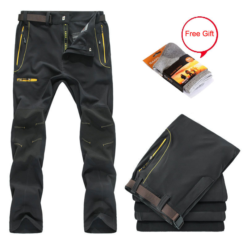 Autumn&Summer Outdoor Sport Hiking&Camping Pants Men,Softshell Trekking Quick Drying Pants,Climbing Trousers Male With Free Gift(China (Mainland))