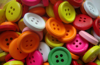 2015 new arrival 50 pcs  Scrapbooking mixed  round  4 Holes  20mm Wood Sewing Buttons cloth acessory  AE03179