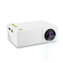 YG310 Portable LCD Projector HD 400-600 LM 1080P AV USB HDMI Video LED Mini Projector Smart Home Cinema Theather Video Projector(China (Mainland))