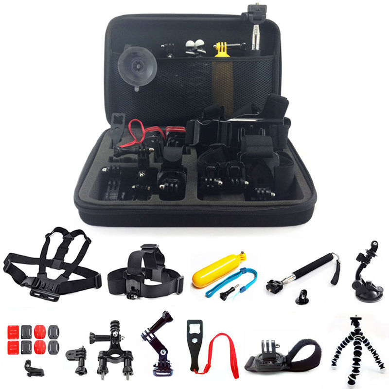 Штатив Gopro accessories 24 in1 KitGoPro GoPro HD 4 3 + 3Monopod + + GP-005 световые приборы dj серии chauvet dj swarm 4 fx