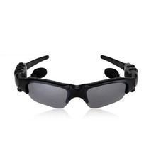 Sports Stereo Wireless Bluetooth 4.0 Headset Telephone Polarized Driving Sunglasses/mp3 Riding Eyes Glasses For cellphone 1210(China (Mainland))
