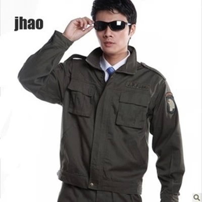 Wholesale Military Eagle style 101 airborne division sets usa army fatigue dress jacket and pant Одежда и ак�е��уары<br><br><br>Aliexpress