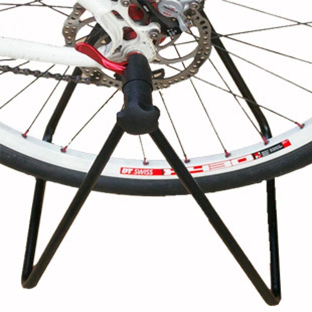 Bicycle Bike Cycling Foldable Bicycle Stand Wheel Hub Stand Kickstand Repairing Parking Holder Folding free shipping(China (Mainland))