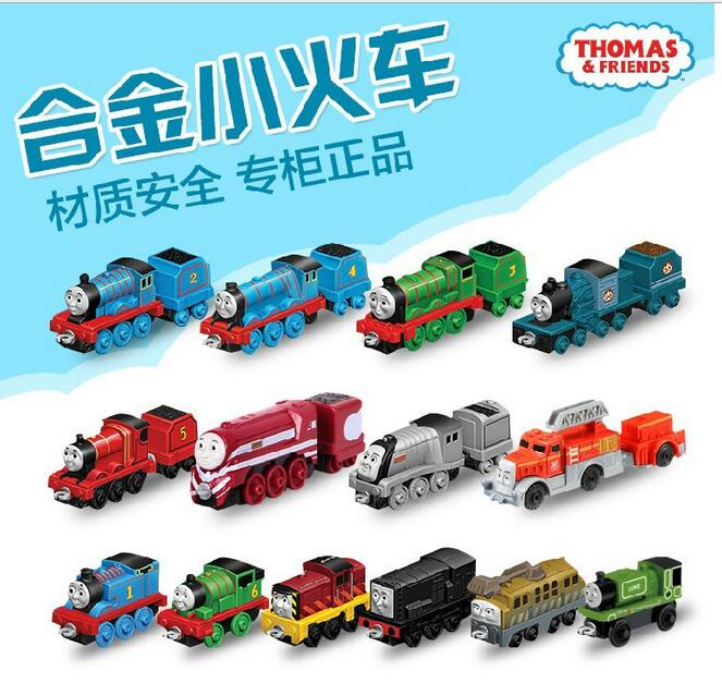 Thomas Thomas electric locomotive electric rail train toy alloy small wholesale models BHX25(China (Mainland))