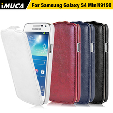 Fashion Brand cell phone cases For Samsung Galaxy S4 mini I9190 I9192 Flip Leather Case Cover(China (Mainland))