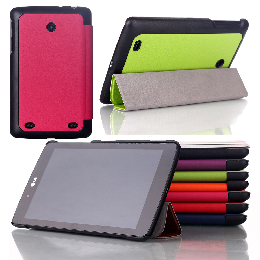 For LG Gpad G Pad 7.0 V400 V410 7.0inch Tablet Business Pu Flip Leather Stand Case Cover(China (Mainland))