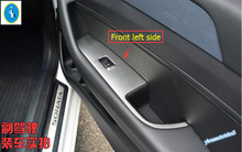 Buy New Style ! Interior Hyundai Sonata Sedan 2015 2016 2017 ABS Side Door Armrest Window lift Button Cover Trim 4 Pcs / Set for $30.88 in AliExpress store