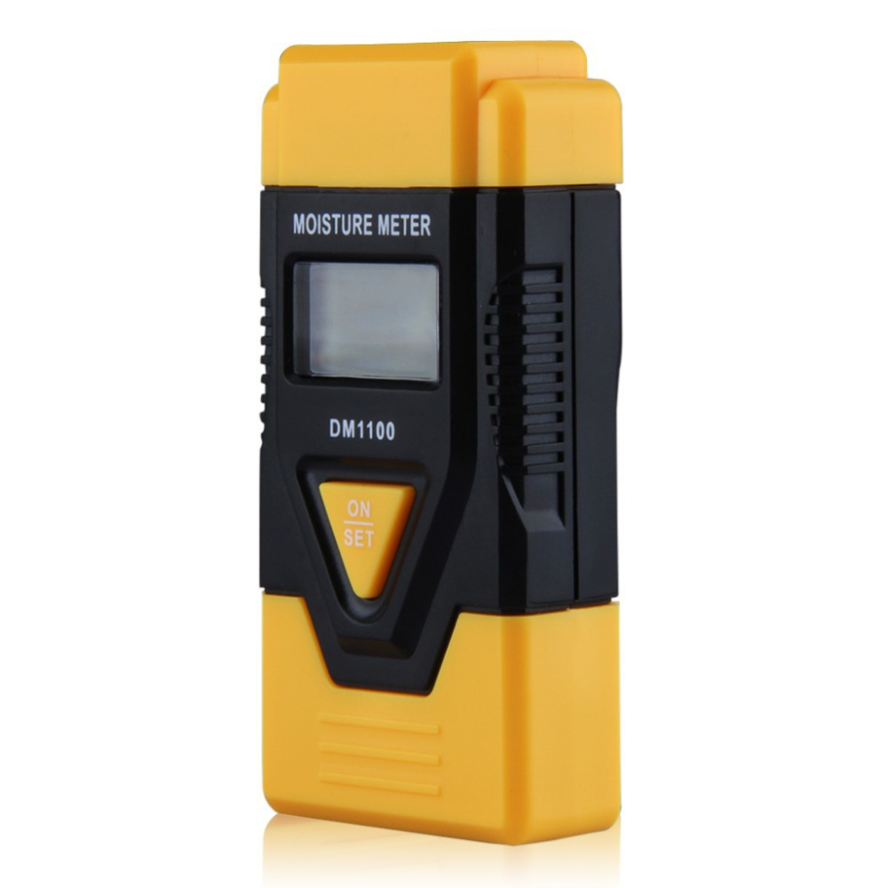 2015 New MINI 3 In 1 Digital Wood Moisture Meter sawn timber hardened materials ambient temperature