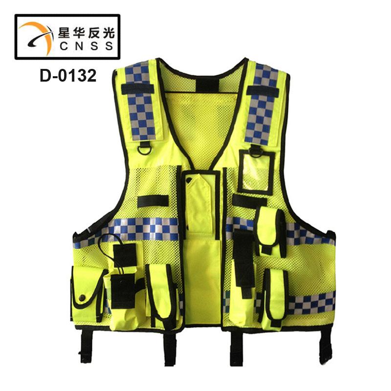 Новое поступление защитную одежду Chaleco сетка ткань светоотражающие ткань материал полосы группа жилет и куртка