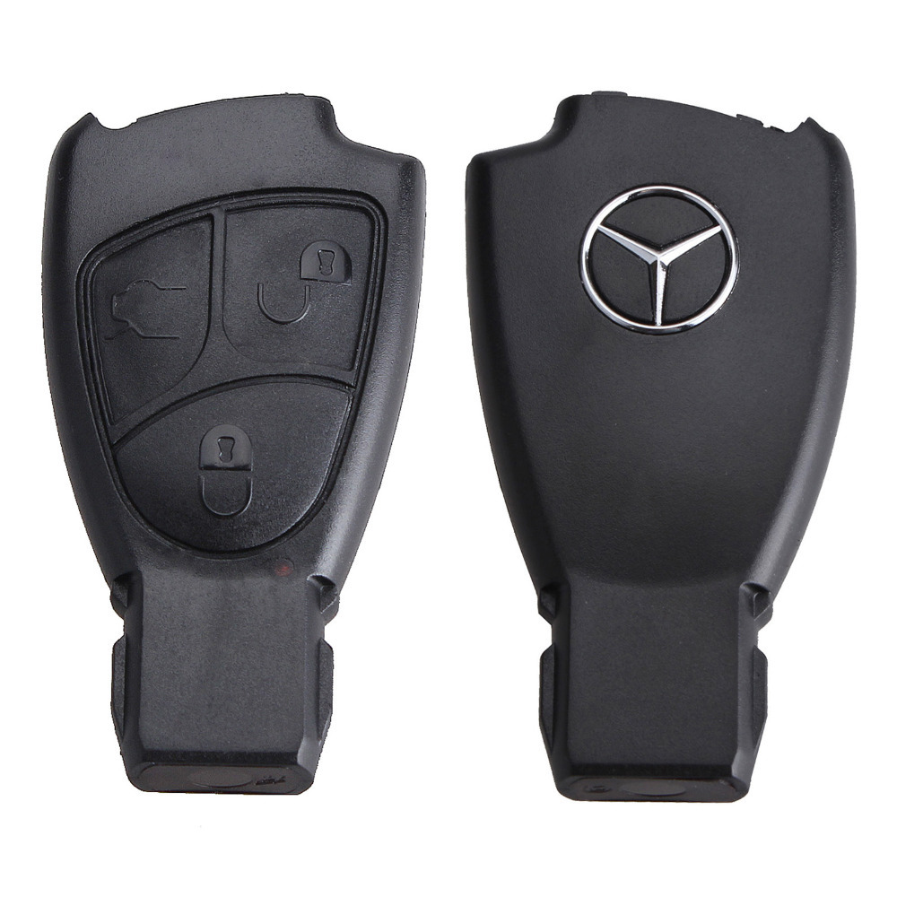 3 Buttons Replacement Keyless Smart Remote Fob Key Shell Case Key For MERCEDES BENZ(China (Mainland))