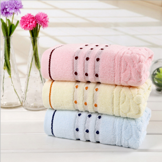 Free shipping new towel 2015 33*74cm 100% soft cotton brand face Flower towel 100% cotton quick dry Wholesale beach towels(China (Mainland))