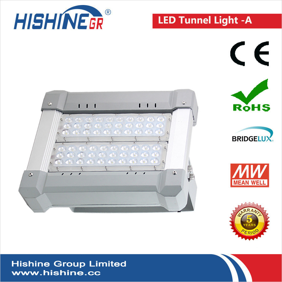 (8pcs/lot)Best Quality Super Shine 100W Led Tunnel Lamp, No UV,No Flick, No RF Meanwell Driver AC90-295V With SHIPPING(China (Mainland))