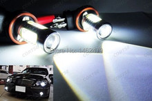 H11 H8 Canbus CREE Chips Projector Plasma Car LED Fog Light DRL HeadLight 16W Error Free Resistor(China (Mainland))