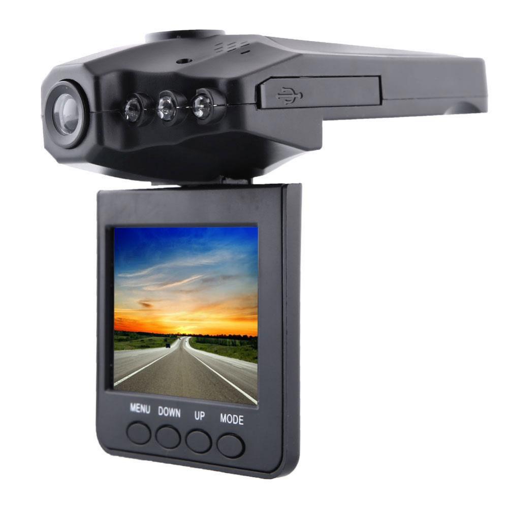 """270 Degree Road Safety Guard Car Camera 2.5"""" LCD TFT Screen 6 LED USB 2.0 Vehicle Car DVR Recorder(China (Mainland))"""