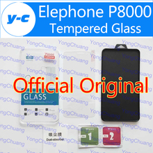 Elephone P8000 Tempered Glass Official Original Protective Film Explosion-proof Screen Protector Anti-shatter temperli Free Ship(China (Mainland))
