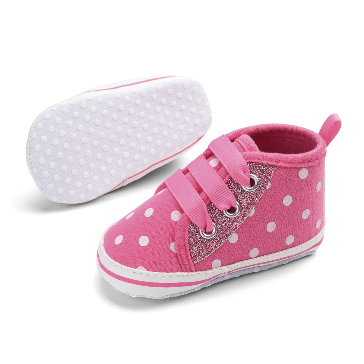 От 0 до 1 года новая Демисезонная обувь с блестками для маленьких девочек undefined