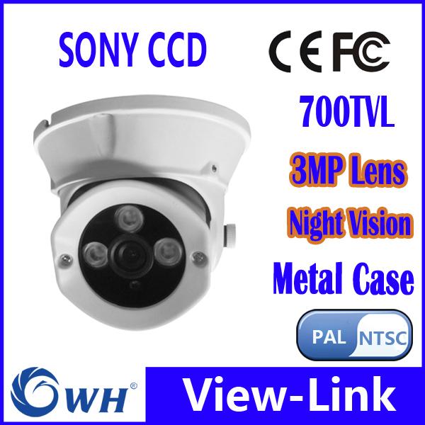 CWH-4331ZPC7 Zuhause kleine Infrarot Video SONY CCD Dome Kamera 3,6 mm Objektiv(China (Mainland))