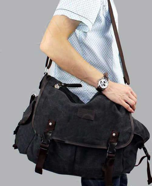 Local Stock, Men Messenger Bags Canvas Cross Body Bag Military Travel Shoulder Bag School Outdoor Free Shipping Y60*M013#M5(China (Mainland))