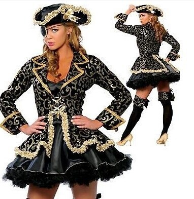 Halloween Costumes For Women Girl Pirates Of The