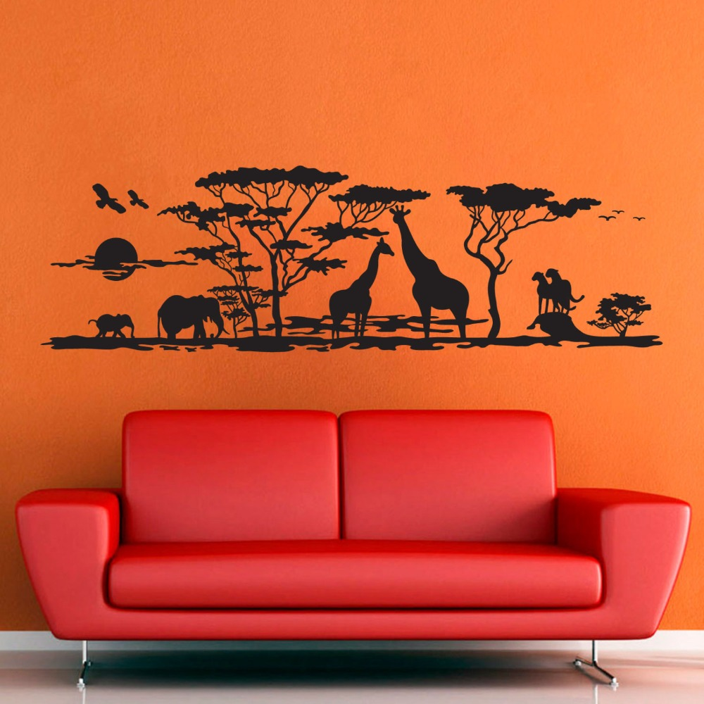 African furniture promotion shop for promotional african for African wall mural