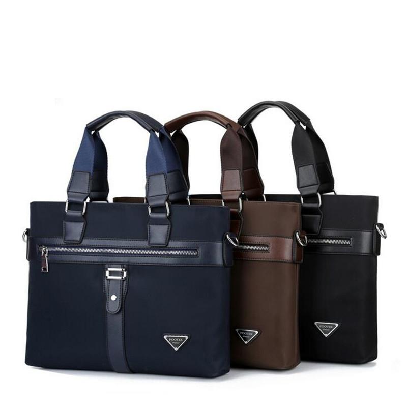 Business Nylon Men Handbags 2016 New Fashion Men's Briefcase High-Quality Famous Brand Messenger Bags X412(China (Mainland))