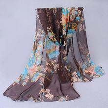 2015 hot wonderful flower long soft scarfs wrap shawl for elegant women han edition scarf scarves