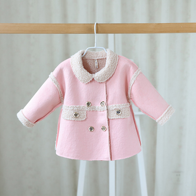Детские девушки осень/зима куртки кардиган baby дети пальто детей clothing coats