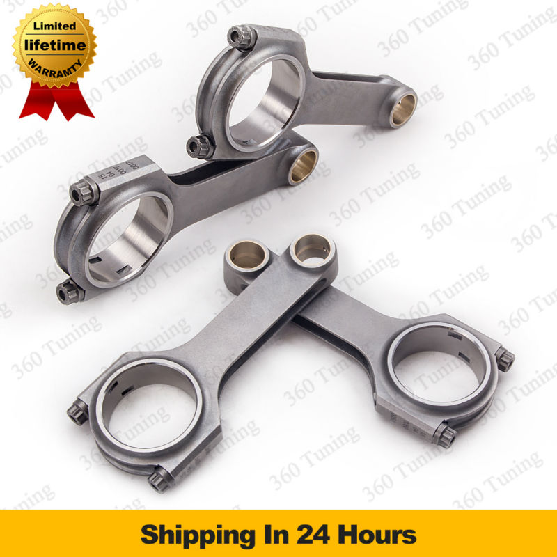 Connecting Rod for Austin Mini Cooper 1275cc plus Sprite MG Metro Mini Cooper 1.3 Forged 4340 H-Beam Rods ARP2000 Bolts Conrod(China (Mainland))