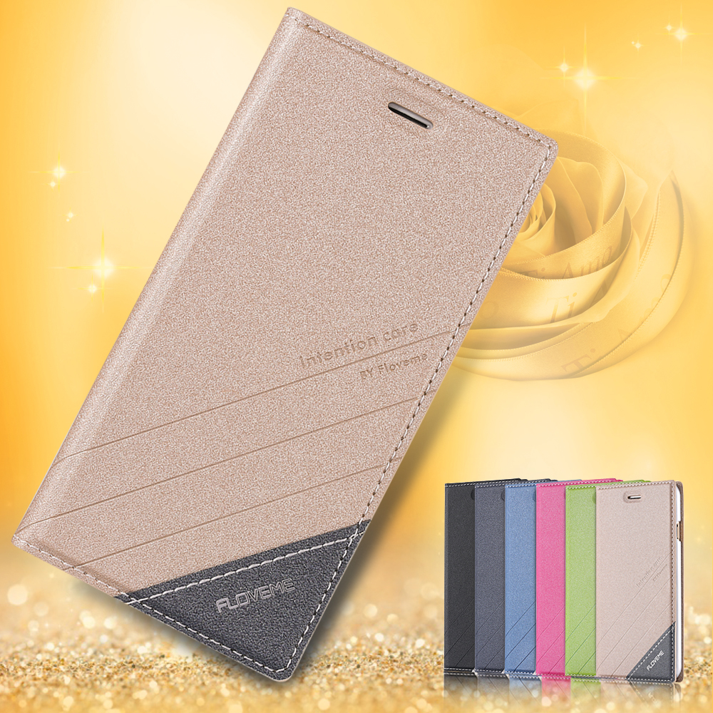 6S/6S Plus Magnetic Flip Wallet Case Original Brand PU Leather Cover For Iphone 6 4.7inch/5.5inch Plus Full Luxury Leather Case(China (Mainland))