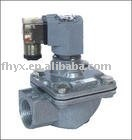 MCF-25 RIGHT ANGLE Type Pulse Valve Dust Collect Machine Double Diaphragms
