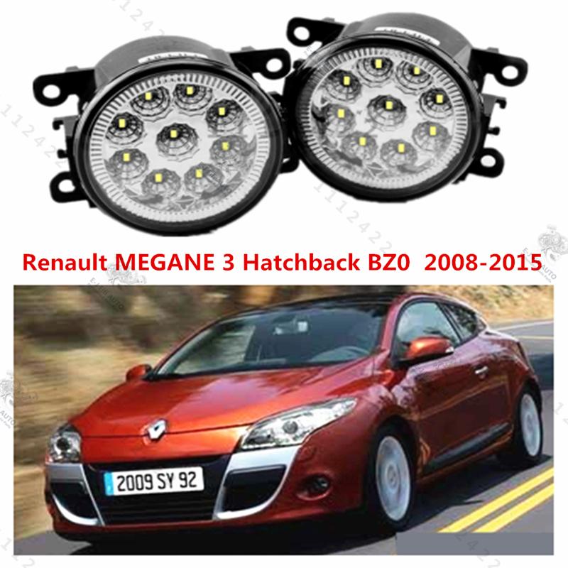 for RENAULT MEGANE III Hatchback (BZ0) 2008-2015 for front bumper high brightness LED Fog lights Halogen lights Car styling 1set(China (Mainland))