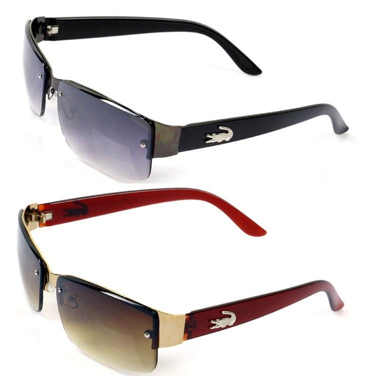 2015 New Fashion Square Sunglasses Men Driving Outdoors Sun Glasses Brand Designer Sport Crocodile Gafas Oculos De Sol Masculino(China (Mainland))