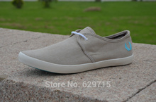 Free shipping men shoes new British style charm white low canvas shoes men shoes casual shoes men(China (Mainland))