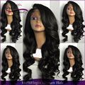 High quality Full Lace Human hair wig Brazilian hair wig with Swiss lace Unprocess Virgin hair Pure color