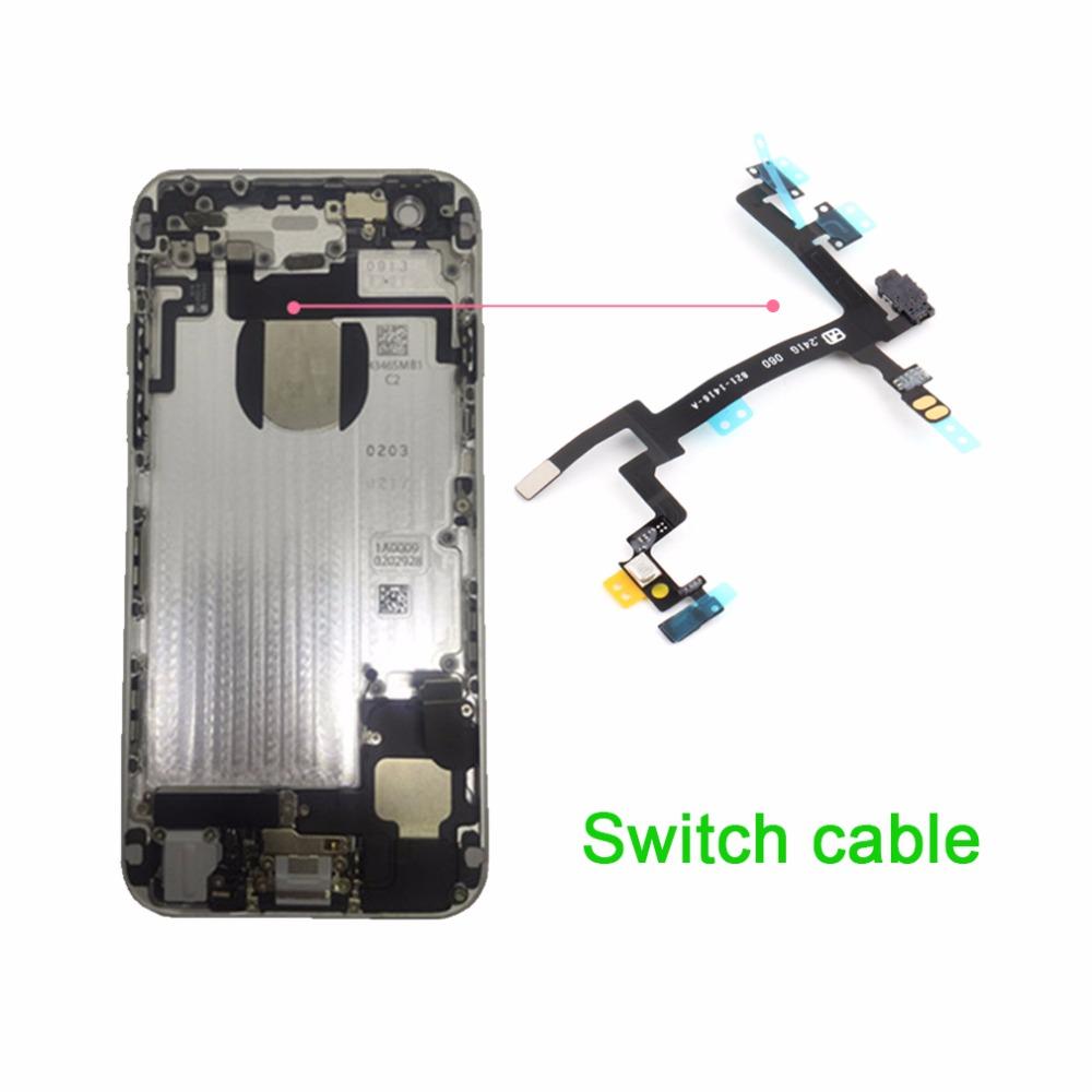 1pcs Original Proximity Light Sensor Power Button Switch Flex Cable Repair Parts Replacement iPhone 5 5G